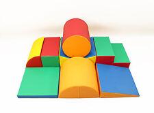 XXXL Softbausteine Riesenbausteine Schaumstoffbausteine Großbausteine 8 Stück