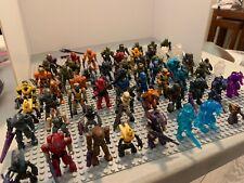 Halo Mega Bloks Huge Figure Lot!