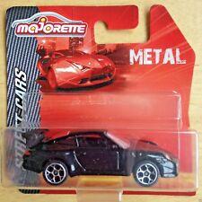Majorette Porsche GT3  black - die cast toy car model