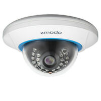 Zmodo 720P HD Wireless IP Indoor Dome WiFi Home Security Camera Motion Detection