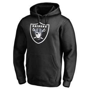 Las Vegas Raiders Hoodie Men's NFL Fanatics Iconic Logo Hoodie - Black - New
