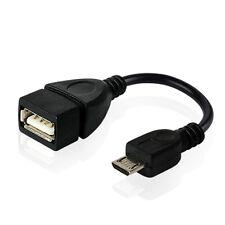 OTG adaptador USB 2.oa hembra a Micro B conector cable convertidor. fur andrneu!