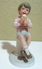 Francis Hook A Child's World Yummm! 1985 Porcelain figurine Vtg collectible