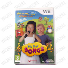 My First Songs *Requires Microphone* for Wii Kids 3+ Singing *1ST CLASS POST*
