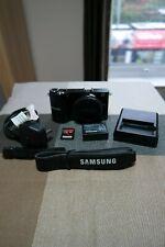 Samsung NX NX210 20.3MP Digital Camera - Black