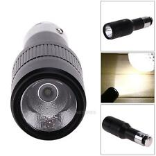 CREE Q5 Car Cigarette Lighter Lamp Rechargeable LED Zoomable Flashlight Torch