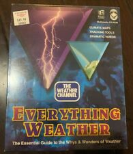 The Weather Channel Everything Weather Multimedia Cd Rom New Sealed