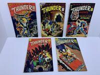 5 Tower Comics 1965 Thunder Agents #1 #4 #5 #7 #11 Lot