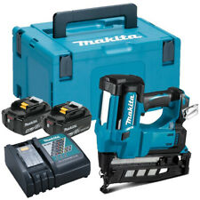 Makita DBN600RTJ 18V 16 Gauge Finish Nailer + 2 x 5.0Ah Batteries Charges & Case