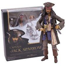 Jack Sparrow Fluch der Karibik Action Figur Johnny Depp Sammler Film Figuren *DE