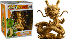 "FUNKO POP VINYL DRAGON BALL Z SHENRON GOLD EXCLUSIVE 6"" SUPER SIZED VINYL FIGURE"