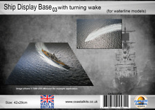 Ship Display Base 03 with turning wake (for waterline models)