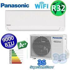 3S CLIMATIZZATORE PANASONIC MONO SPLIT 9000 btu WiFi Integrato TZ Super Compact