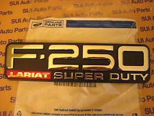 Ford F250 F-250 Super Duty Lariat LH or RH Fender Emblem Badge 1999-2004