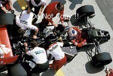 Alain Prost McLaren MP4/3 húngaro Grand Prix 1987 fotografía 4