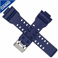 Genuine Casio Watch Strap Band for  GA-110FC-2A GA-100 GA-110 GAC-100AC BLUE