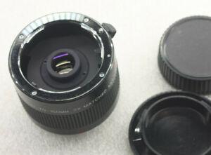 Vivitar 2x Matched 70-150mm Tele-Converter For P/K Mount - Glass Good USED E66K