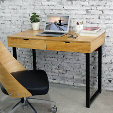 HLC Modern Computer Desk Home Office Study Writing Table Workstation with Drawer