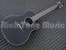 Ovation 2771AX-5 Black - Deep Contour Bowl Acoustic Guitar