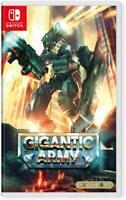 Gigantic Army - Nintendo Switch [NTSC, Retro Style, VGNY Soft, PixelHeart] NEW