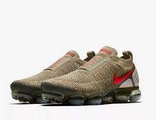 Nike Air Vapormax FK Moc 2 Size 11.5 UK Olive Genuine Authentic Mens Trainers
