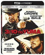 3:10 TO YUMA (Russell Crowe)  (4K ULTRA HD) - Blu Ray -  Region free