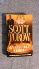Scott Turow - Reversible Errors (a Kindle County novel # 6) (2003 PB)