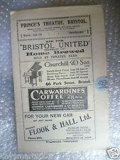1927 Theatre Programme INTERFERENCE- Edwin Thornton