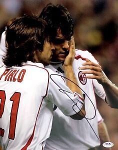 Ricardo Kaka Signed 11x14 Photo PSA AH69718 Soccer