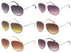 Designer Giselle Womens Vintage Retro 80s Aviator Sunglasses + Soft Bag #dg20