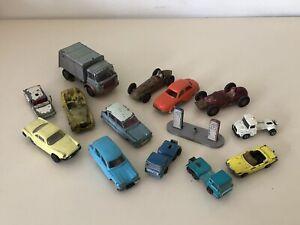 Jouet ancien gros lot de miniatures Majorette Norev Dinky JRD