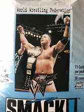 SMACKDOWN WWF  BASE /BASIC SET OF 72 CARDS BY COMIC IMAGES 1999