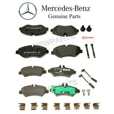 NEW Mercedes W906 Sprinter 2500 2010-2017 Front and Rear Brake Pad Sets Genuine
