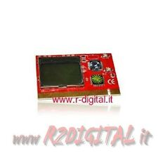 PCI TESTER DISPLAY LCD DIAGNOSTICA SCHEDA MADRE CODICE ERRORI TEST PC RAM VIDEO