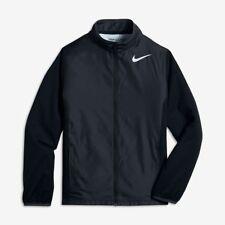 Nike Golf Boys Full Zip Shield Jacket Water Resistant Black Size Large L 845295