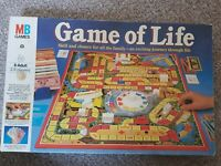 Vintage1984 MB Games GAME OF LIFE Board Game Classic Traditional
