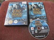 Lord Of The Rings The Two Towers LOTR Playstation 2 Video Game Complete