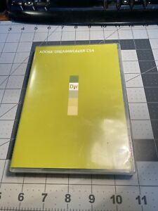 Adobe Dreamweaver CS4 DVD for Windows with Serial (Used) 37A-555G