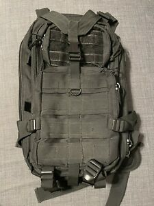 Voodoo Tactical Backpack Black Great Condition Customizable