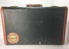 Vintage Suitcase Leather Trim Atlantic City NJ Auditorium Convention Hall Decal