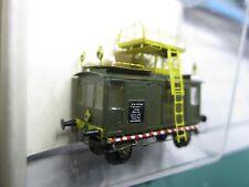 Messingmodell( grün ) Fertigmodell BLS Krähenturmwagen