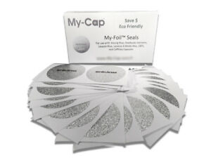 My-Cap My-Foils to Reuse Your Keurig Rivo, Starbucks Verismo, Lavazza, Caffitaly