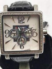 JOJO DIAMOND Wrist Watch Mop Dial 2.0CT  Model JJS1-0051 MSRP $1,600!!!