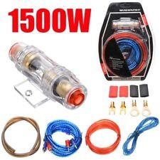 Car HiFi Auto Kabel Set KFZ Verstärker Komplettsatz Lautsprecherkabel 1500W 60A