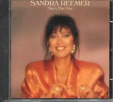 SANDRA REEMER - She's the one CD Album 11TR Europop 1990 (CBS) BOLLAND & BOLLAND