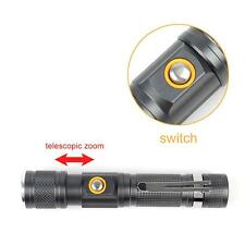 Cree T6 lampe de poche LED zoom 10000 lumens imperméable à l'eau lampe torche AH