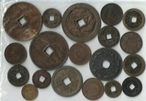 China 18 Copper Coins