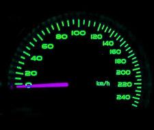 grün LED Armaturenbrett Tacho Satz Beleuchtungsset für Opel Astra MK4 Sri CDX