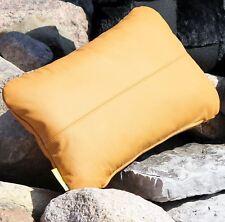 LEATHER CUSHION 50x30 Back Padding Headrest Case Ear Chair Cushion Deco