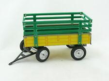 Blechspielzeug - Traktor Anhänger für John Deere gelb/grün von KOVAP 0404